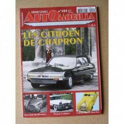Automobilia n°101, Citroën Chapron, Ribeyrolles Darracq, Packard Caribbean, Renault Ghia, Isotta-Fraschini 8C Monterosa