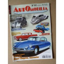 Automobilia n°50, Henri Chapron, Peugeot 302, Renault Novaquatre, Citroën carrossées, Borgward 2,3l