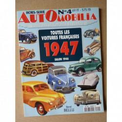 AutOmobilia HS n°4, Toutes les voitures françaises 1947, salon 1946