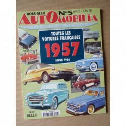 AutOmobilia HS n°5, Toutes les voitures françaises 1957, salon 1956