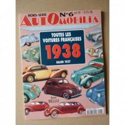 AutOmobilia HS n°6, Toutes les voitures françaises 1938, salon 1937