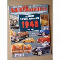 AutOmobilia HS n°7, Toutes les voitures françaises 1948, salon 1947