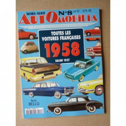 AutOmobilia HS n°8, Toutes les voitures françaises 1958, salon 1957