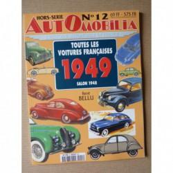 AutOmobilia HS n°12, Toutes les voitures françaises 1949, salon 1948