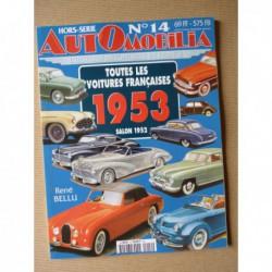 AutOmobilia HS n°14, Toutes les voitures françaises 1953, salon 1952
