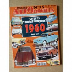 AutOmobilia HS n°15, Toutes les voitures françaises 1960, salon 1959