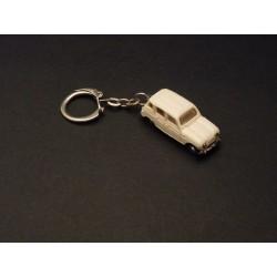 Porte-clés Renault 4 blanche, Norev micro miniature