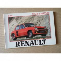 Toute l'histoire n°6, Renault