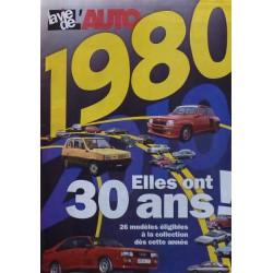 1980, elles ont 30 ans en 2010, supplément La Vie de l'Auto