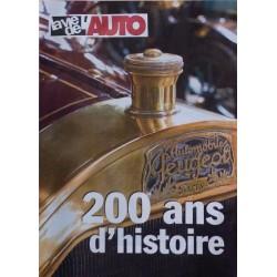 Peugeot 200 ans d'histoire, supplément La Vie de l'Auto