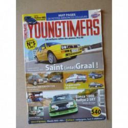 Youngtimers n°5, Mercedes 300 320CE, Simca Rallye 2, Lancia Delta HF, Volvo 480, Citroën CX GTI, Peugeot 505 Turbo