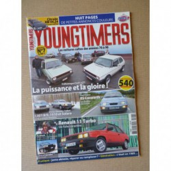 Youngtimers n°7, VW Golf GTI, R11 Turbo, Ford Sierra Cosworth, Citroën XM V6, Chrysler 1307 1308 1309 1510 Solara