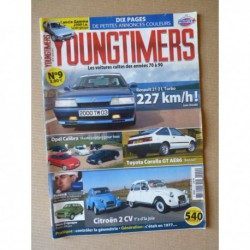 Youngtimers n°9, Citroën 2cv4 2cv6, Toyota Corolla GT, R21 2L Turbo, Lancia Gamma 2.5ie, Opel Calibra