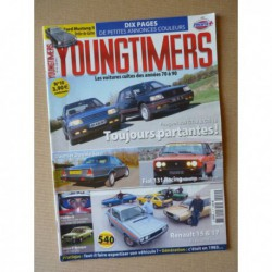 Youngtimers n°10, Peugeot 309 GTI, Fiat 131 Racing, Daimler Double 6, Ford Mustang II, Renault 15 17