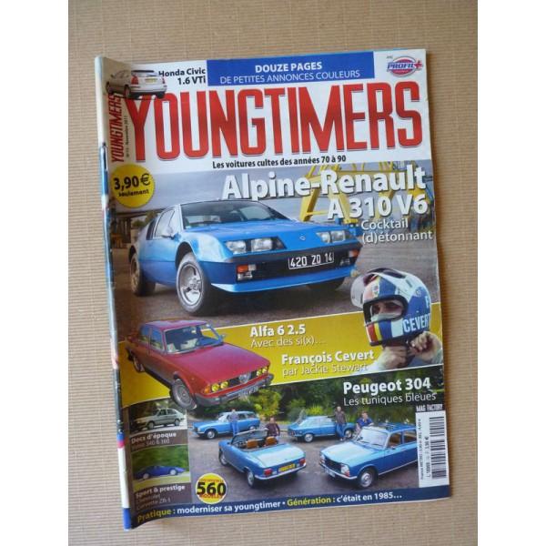 Youngtimers N°15, Alpine A310, Honda Civic EK, Chevrolet