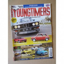 Youngtimers n°16, Mini et Coopers, Matra Murena, BMW Alpina B7, Toyota 1000, Renault 4