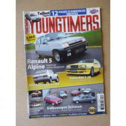 Youngtimers n°18, Renault 5 Alpine, Alfa Romeo 33, Volvo 850, Talbot Tagora, VW Scirocco I