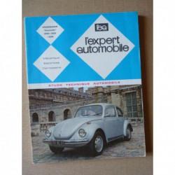 L'EA Volkswagen Coccinelle 1200, 1300, 1302 depuis 1967