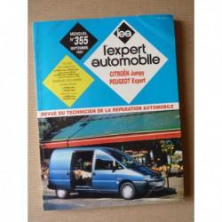 L'EA Citroën Jumpy I et Peugeot Expert I de 1994-2000