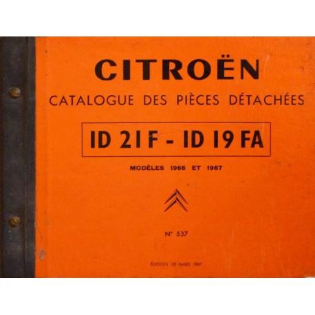 citro n id21f et id19fa catalogue de pi ces. Black Bedroom Furniture Sets. Home Design Ideas