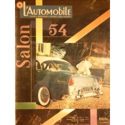 L'Automobile, salon 1954