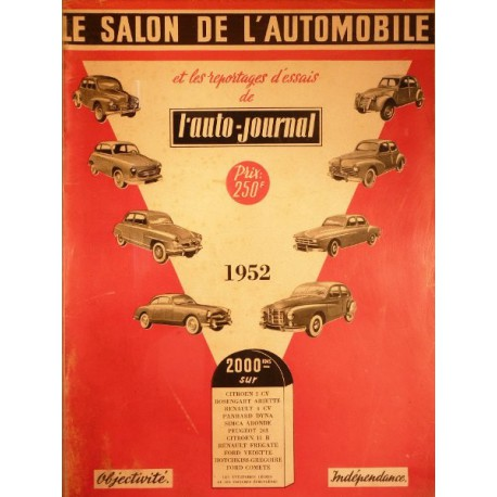 L'Auto Journal, salon 1952