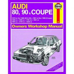 Haynes Audi 80, 90 et Coupe (Typ 81, 1979-88)