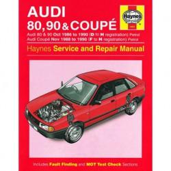 Haynes Audi 80, 90 et Coupe, essence (Typ 89, 1986-90)