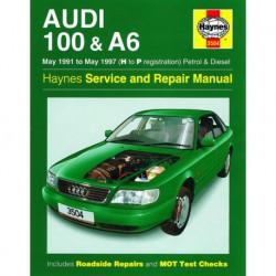 Haynes Audi 100 et A6 essence et Diesel (4A, C4, 1991-97)