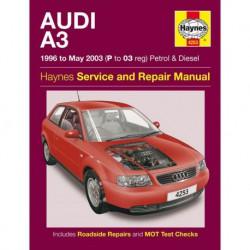 Haynes Audi A3, essence et Diesel (Typ 8L, 1996-03)