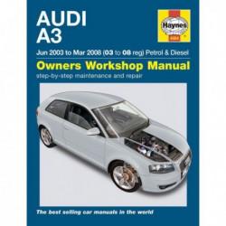 Haynes Audi A3, essence et Diesel (Typ 8P, 2003-08)