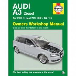 Haynes Audi A3, Diesel (Typ 8P, 2008-12)