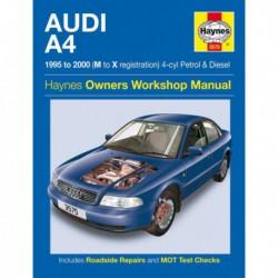 Haynes Audi A4, essence et Diesel (Typ 8D, 1995-2000)