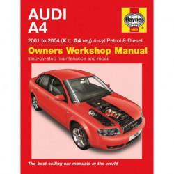 Haynes Audi A4, essence et Diesel (Typ 8E-8H B6, 2001-04)