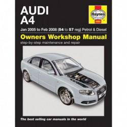 Haynes Audi A4, essence et Diesel (Typ 8E-8H, B7, 2005-08)