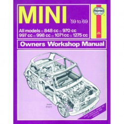 Haynes Mini MkI, MkII (1959-69) dont Cooper, Coopers S, Riley Elf, Wolseley Hornet