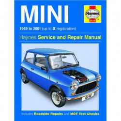 Haynes Mini MkIII à MkVII (1969-2001) dont Cooper S, Clubman, 1275GT