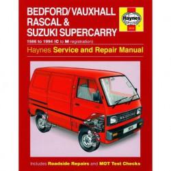 Haynes Bedford, Vauxhall Rascal et Suzuki Super Carry (1986-94)