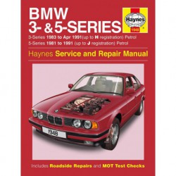 Haynes BMW Séries 3 et 5 essence (E30, E28 et E34, 1981-91)