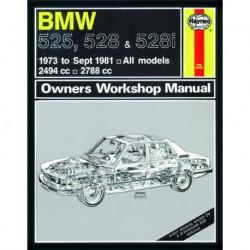 Haynes BMW 525, 528 et 528i (E12, 1973-81)