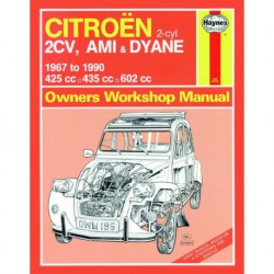 Haynes Citroën 2cv, 2cv4, 2cv6, Ami 6 et 8, Dyane 4 et 6 (1967-90)