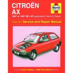 Haynes Citroën AX essence et Diesel (1987-97)