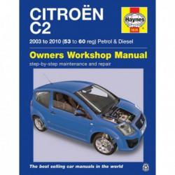 Haynes Citroen C2 essence et Diesel (2003-10)