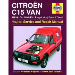 Haynes Citroën C15, essence et Diesel (1989-98)
