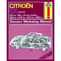 Haynes Citroën CX essence (1975-88)