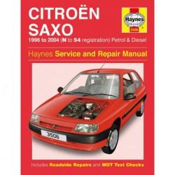 Haynes Citroën Saxo essence et Diesel (1996-04)
