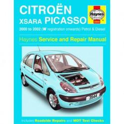 Haynes Citroën Xsara Picasso, essence et Diesel (2000-02)