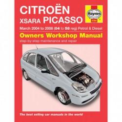Haynes Citroën Xsara Picasso, essence et Diesel (2004-08)