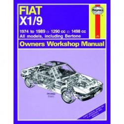 Haynes Fiat X1/9, 1.3 et 1.5 (1974-89)
