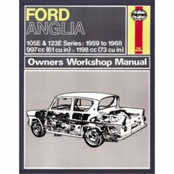 Haynes Ford Anglia 105E, Super 123E, Thames 307E, 309E (1959-68)